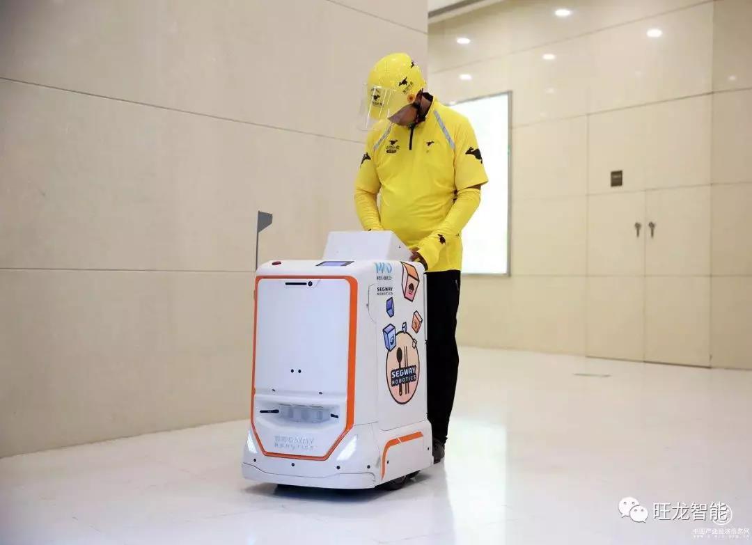 机器人产业临近爆发,旺龙智领机器人乘梯四方行走