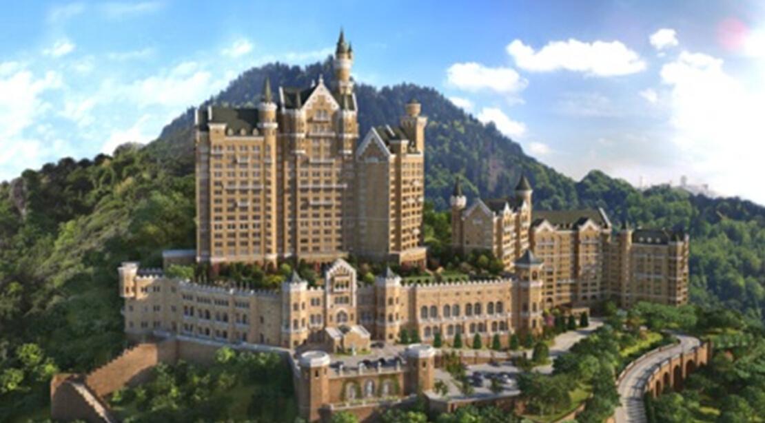 大连一方城堡酒店电梯控制系统